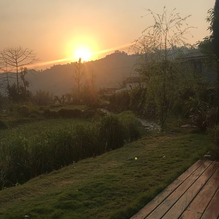 Brilliant eco-resort in beautiful village