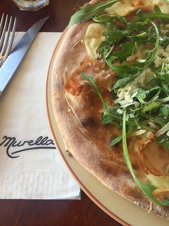 Murella: Foccacia (more like a pizza)