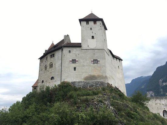 Balzers, Liechtenstein: The castle in all its glory