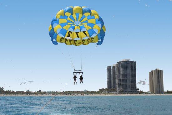 Parasailing West Palm Beach Florida Travel Guide