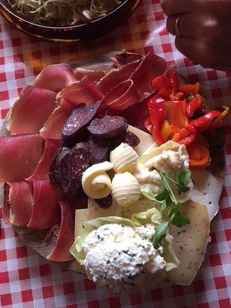Βάλε ντι Κασίες, Ιταλία: tagliere Tirolese