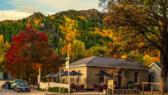 The Fork and Tap : Our location as the Autumn rolls in