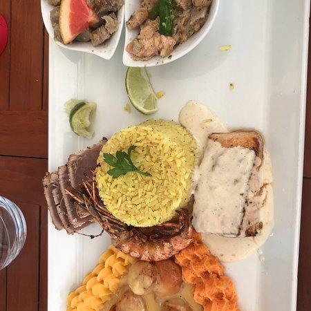 La plage guadeloupe omd men om restauranger tripadvisor for Dejeuner entre amis