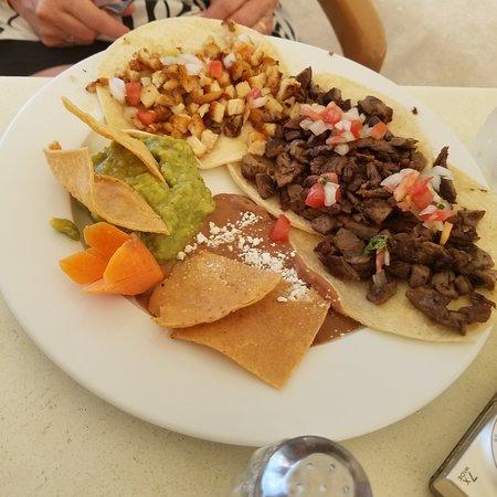 Chicken & Beef tacos