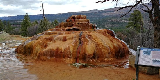 Durango Hot Springs >> Pinkerton Hot Spring From The Road Picture Of Pinkerton