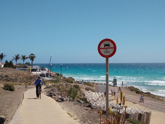 Villa - Mar Hotel: carril bici de la playa