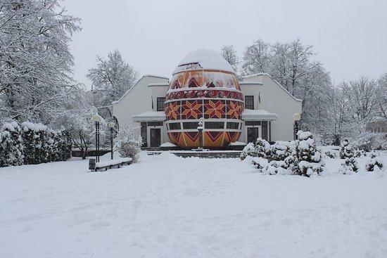 Kolomyia, أوكرانيا: The biggest Easter egg I've ever seen!