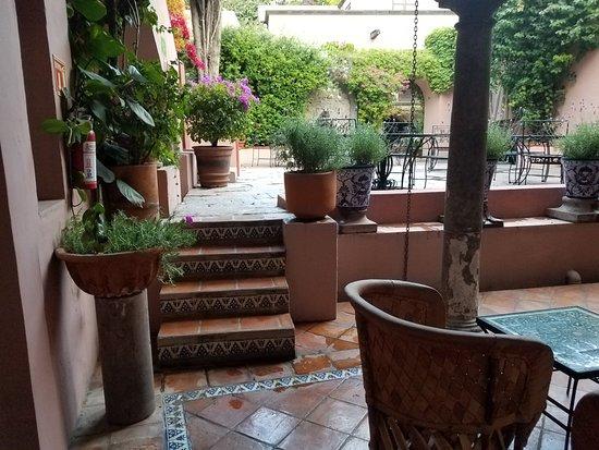 Casa Rosada Hotel: View from my room.