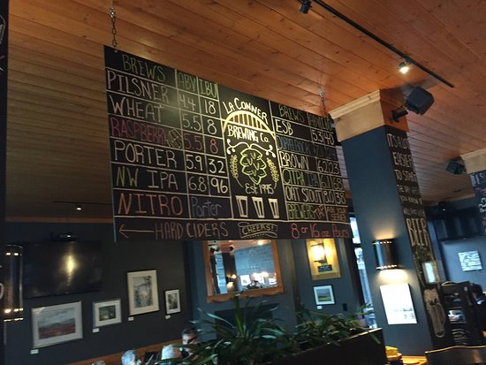 La Conner Brewing Co: Beer options!