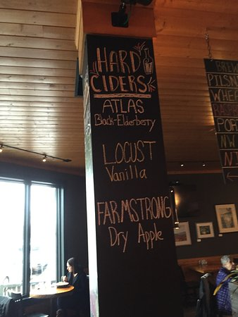 La Conner Brewing Co: The Black Elderberry Cider was really really good!