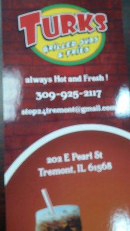 Tremont, อิลลินอยส์: Regular chicken Philly cheese steak