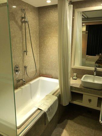 Golden Silk Boutique Hotel: Bath/Shower