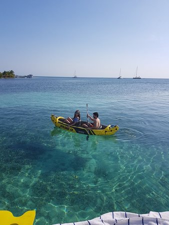 South Water Caye, Belice: 20180329_154641_large.jpg