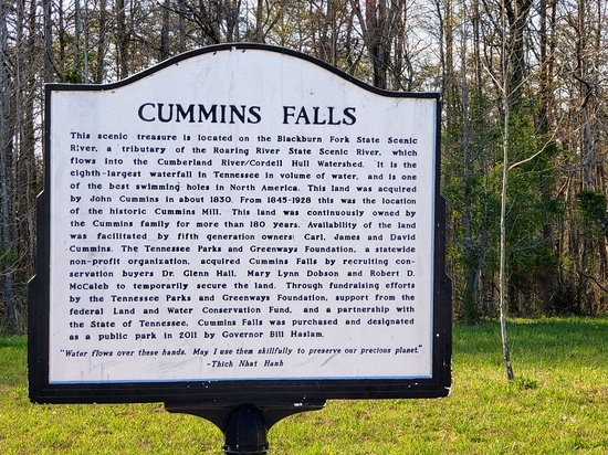 Cookeville, TN: Cummins Falls State Park
