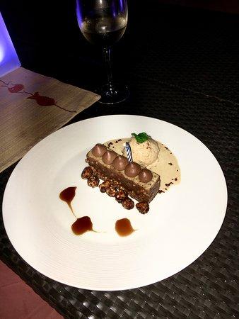 Solana at Shangri-La's Boracay Resort and Spa: special dessert