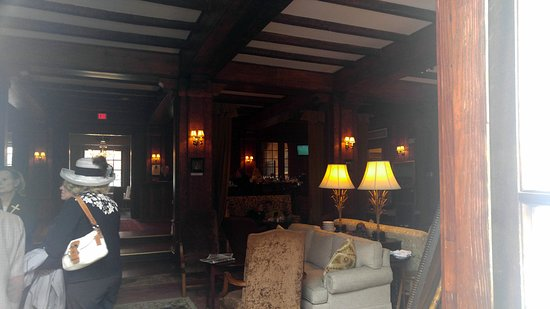 The Willcox Restaurant: view from the entrance