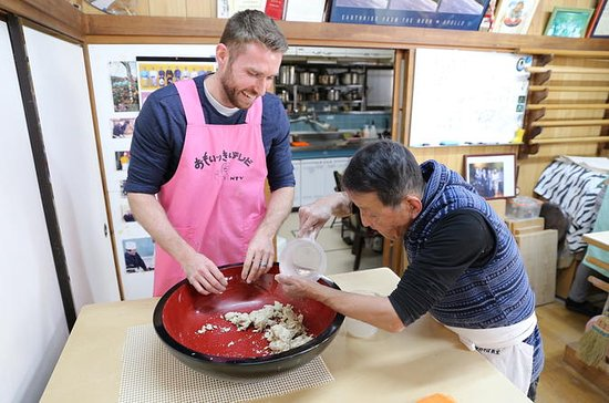 Soba-Making with a Master in Tokyo