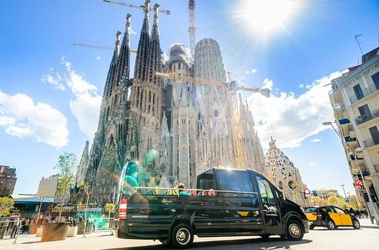 Sagrada Familia and Park Guell on a...