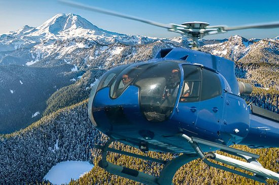 Mount Rainier Helicopter and Hiking...