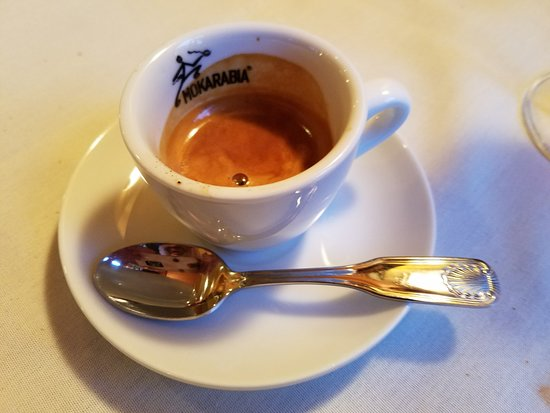 Pablo made me the best espresso in Mineola! Thanks Pablo for taking such good care of us:-)