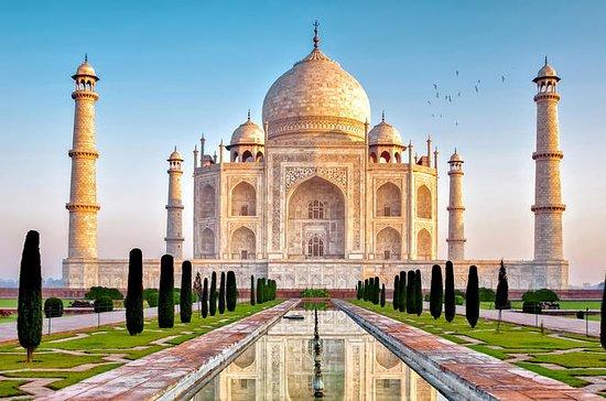 Excursion d'une nuit à Agra avec le...