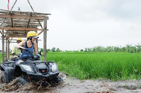 Bali Atv With River Track An Paddy...