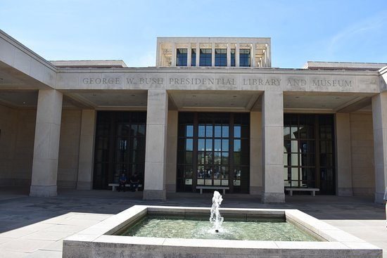 The George W Bush President Library And Museum Picture Of The