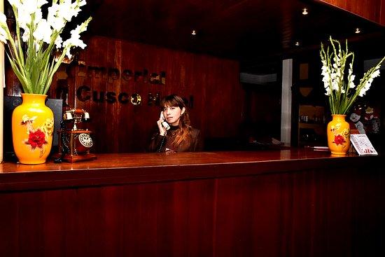 Imperial Cusco Hotel: ATENDEREMOS A TODOS TUS PEDIDOS