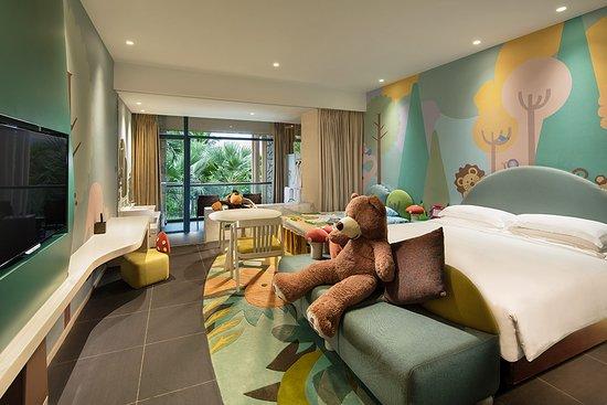 Hilton Sanya Yalong Bay Resort & Spa: 豪华家庭房