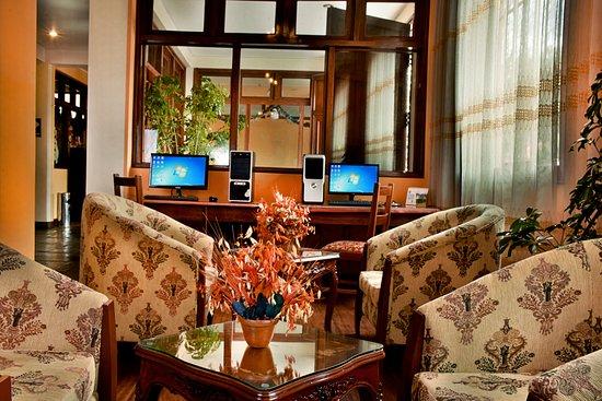 Imperial Cusco Hotel: ESTACION DE MATE DE COCA FREE