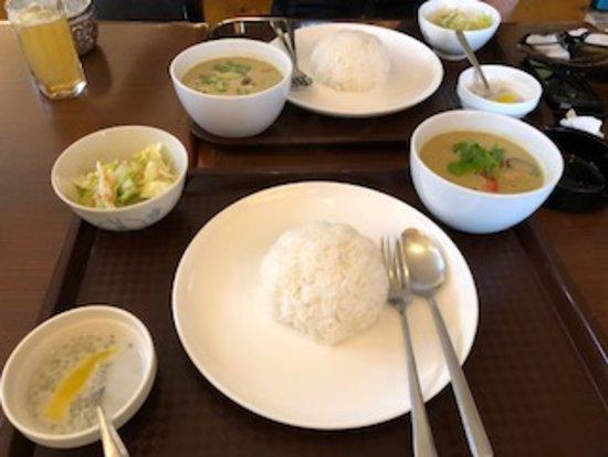 Thailanna: グリーンカレーのセット