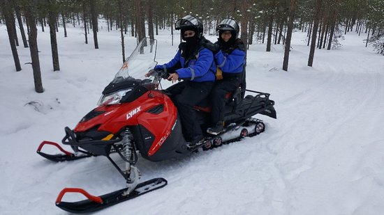 Pictures of Lapland Snowmobiling, Ice Fishing, and Tasty