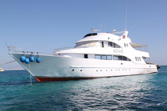 Safaga, Egypten, Egypten: Le NEMO (bateau de croisière Dune Red sea)