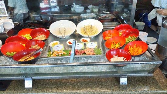 Acaci: Food selection