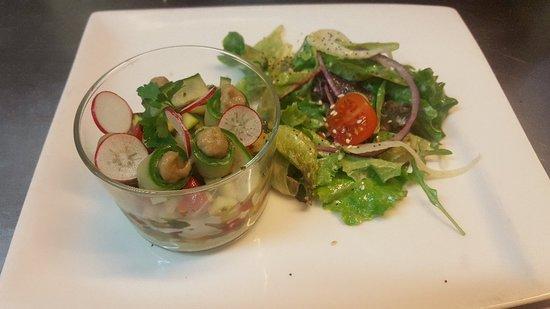 Ça Mijote dans les Cocottes: Tartare de légumes frais.