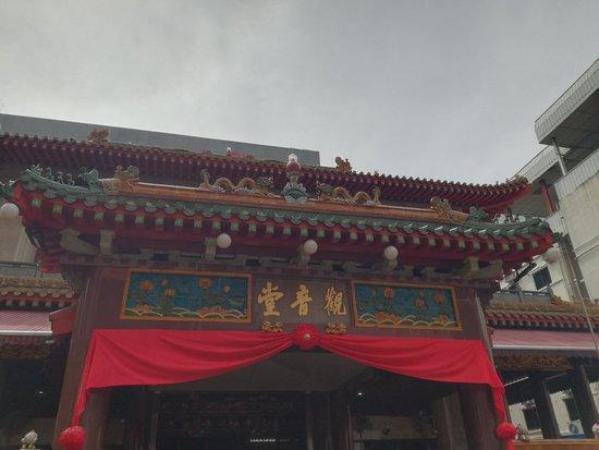 Thian Hock Keng Temple Mural