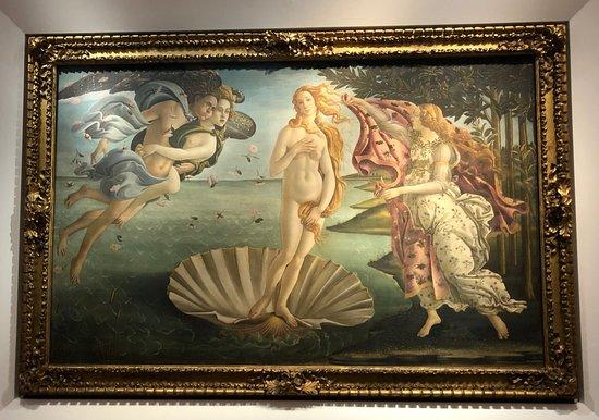 Botticeli : La naissance de Vénus