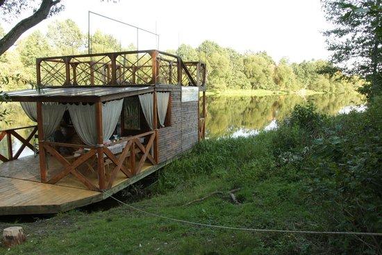 Provincia de Minsk, Bielorrusia: На этом корабле мы и провели 3 дня путешествия