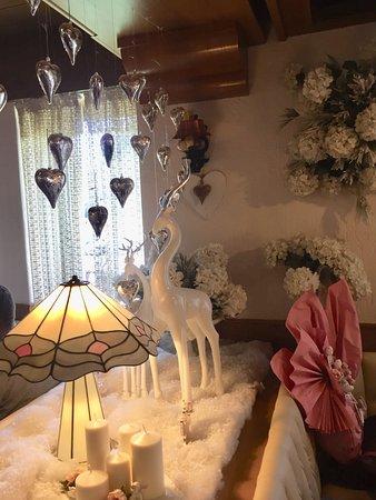 Conco, Italie : Decorazioni nella sala Sissi