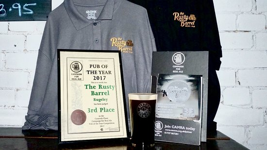Rugeley, UK: 3rd Best pub in Cannock chase district
