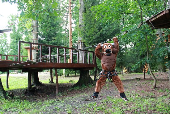 Taurage, Lithuania: Auroch - the symbol of Taurai Adventure's Park