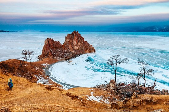 Shaman Rock - one of the most famous places around Baikal!