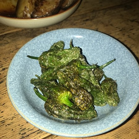Jose Pizarro: one of my favourites - small non-spicy chillies