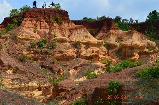 Garbeta, Indie: Grand Canyon of Bengal