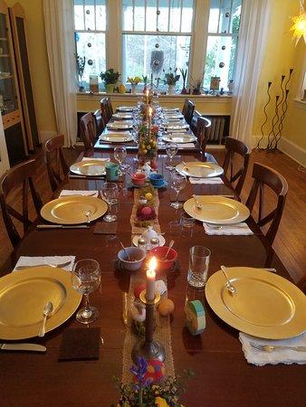 Sweet Biscuit Inn: Easter Breakfast Table