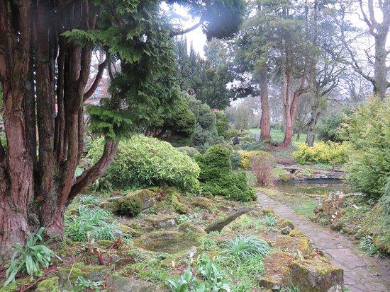 Kington, UK: Rockery garden