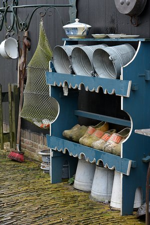Zaanse Schans: Look to the doorsteps and the details. The Dutch do things well.