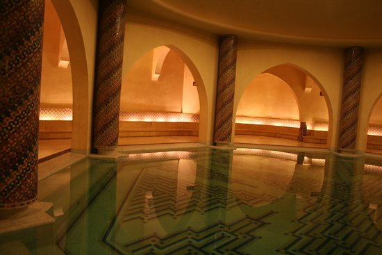 Casablanca, Morocco: The men's bath