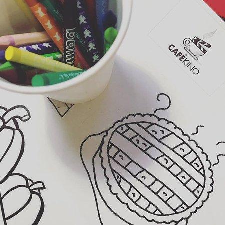Cafekino Zabawa Dzieci Czas Wolny Kolorowanki Picture Of Cafe