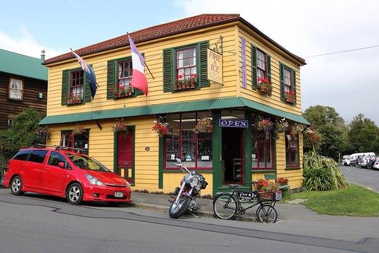 Akaroa, Nieuw-Zeeland: local shop
